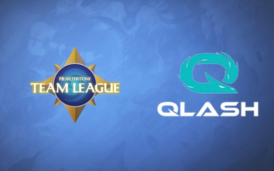 Team Qlash à l'Hearthstone Team League !