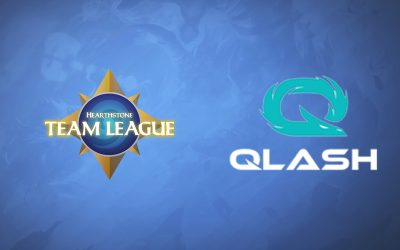 Team Qlash à l'Hearthstone Team League !