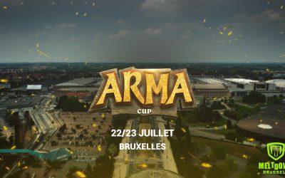 Les dernières infos de l'Arma Cup Bruxelles !