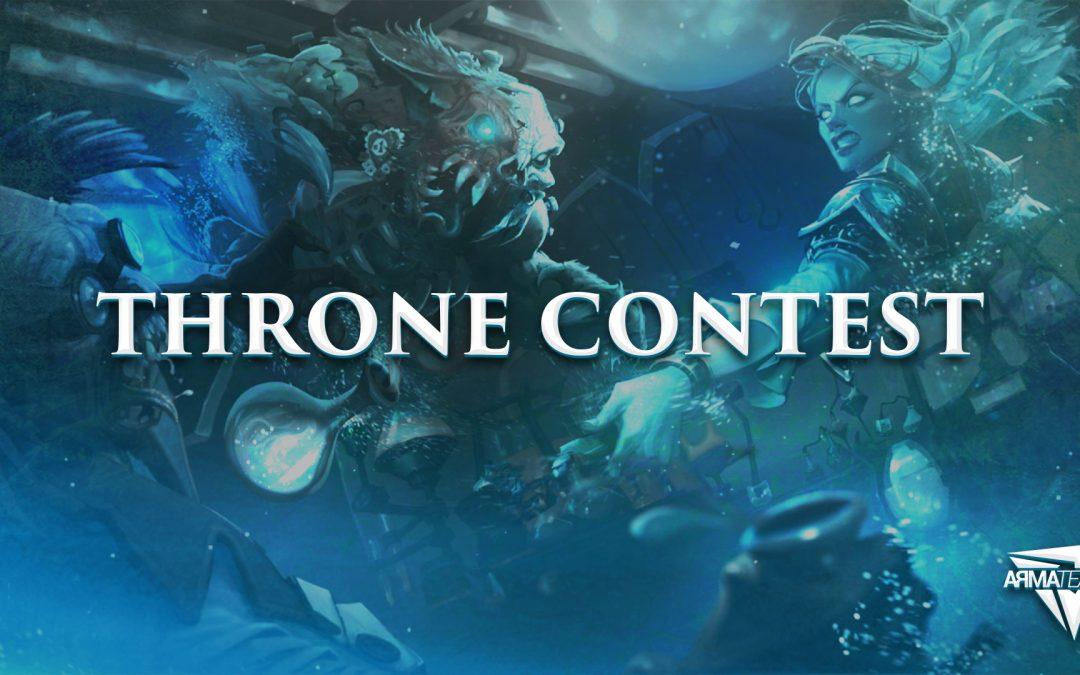 Découvrez le Throne Contest !