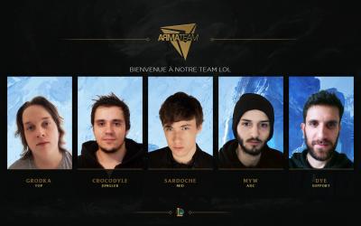 Apprenez en un peu plus sur notre roster League of Legends!