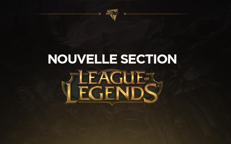 ArmaTeam annonce sa section League of Legends !