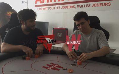 Inscrivez-vous à notre prochain tournoi de poker sur Winamax