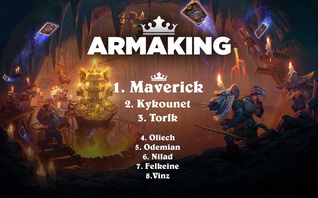 Maverick, grand vainqueur de l'armaKing