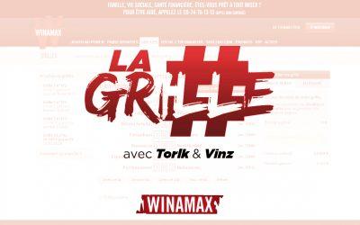 Rendez-vous dès 19h avec Torlk et Vinz pour La Grille !