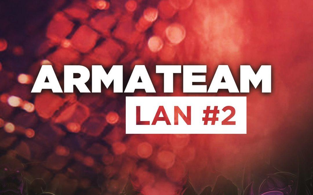 La LAN ArmaTeam revient les 24 et 25 Mars !