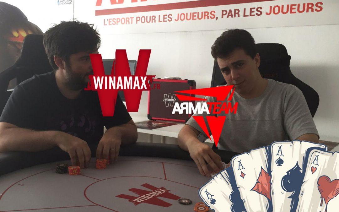 Participez à notre tournoi de Poker Winamax de demain !