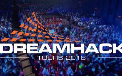 Suivez nos joueurs tout le week-end de la Dreamhack Tours !