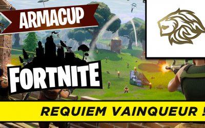 Requiem remporte la 1ère soirée de l'Arma Cup Fortnite !