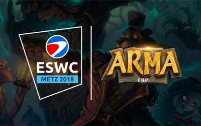 Tentez de vous qualifier pour l'Arma Cup Metz !