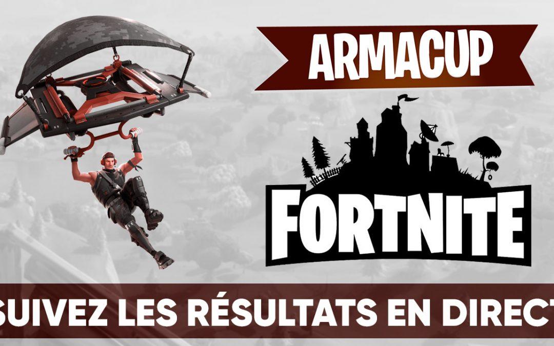 Suivez l'Arma Cup Fortnite : Battle Royale en direct !