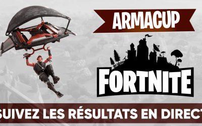 Accent québécois remporte la 5ème soirée de l'Arma Cup Fortnite!