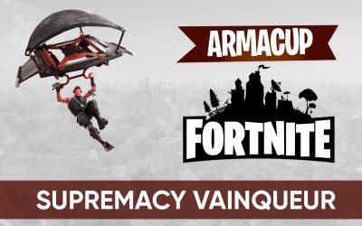 Supremacy remporte la 4ème soirée de l'Arma Cup Fortnite !