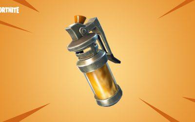 Une nouvelle arme dans Fortnite