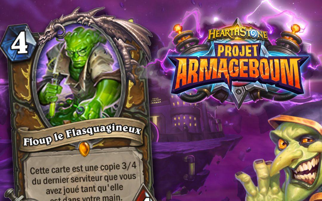 Toutes les cartes de la nouvelle extension d'Hearthstone : Armageboum !