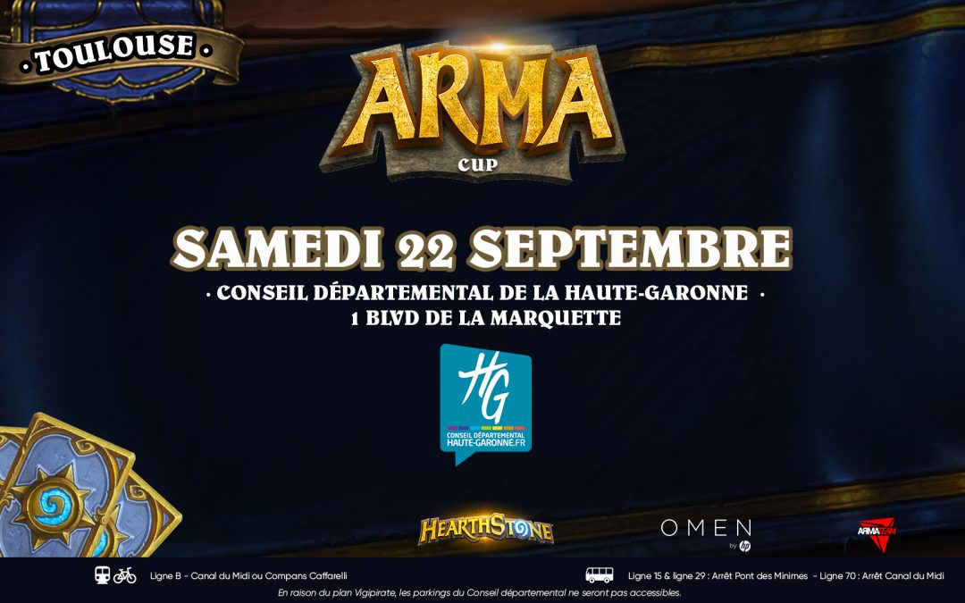 ArmaCup Toulouse : les decks du Top4 !