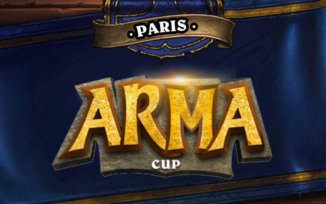 Ils seront présents à l'Arma Cup Paris !