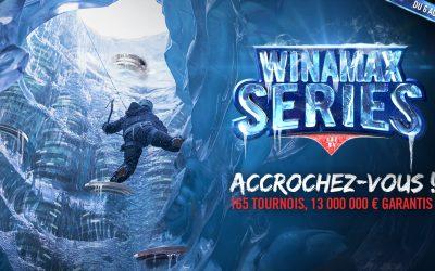 Winamax Series du 06 au 17 janvier !