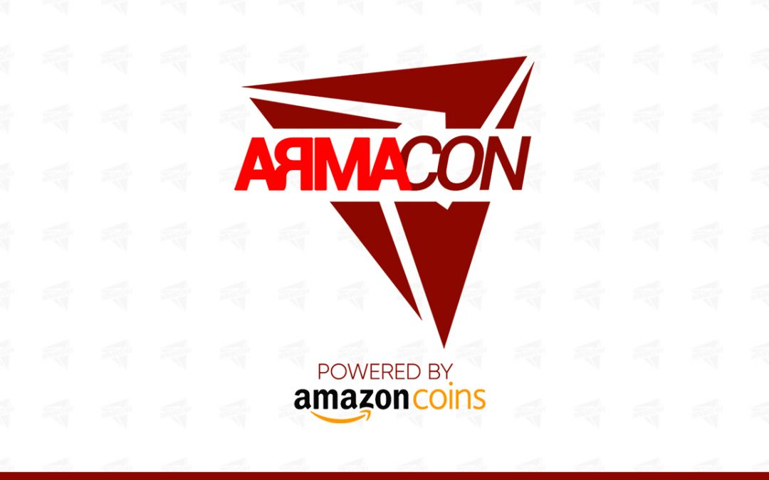 Amazon Coins partenaire de l'Arma Convention