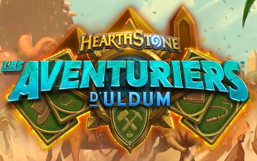 Les Aventuriers d'Uldum, la nouvelle extension Hearthstone !