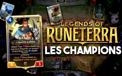 Legends of Runeterra : les champions