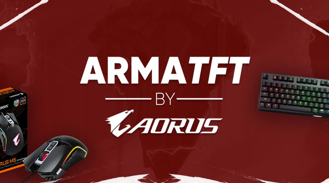 Rendez-vous le 3 Décembre pour l'ArmaTFT#18 by AORUS !