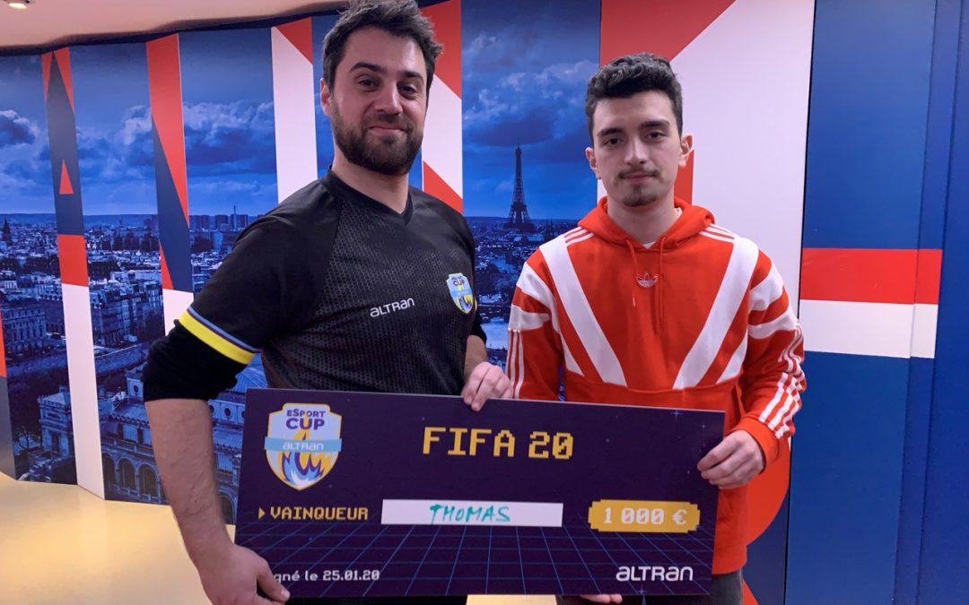 Les résultats de l'Altran Esport Cup 2