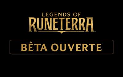 La bêta ouverte de Legends of Runeterra arrive le 24 Janvier !