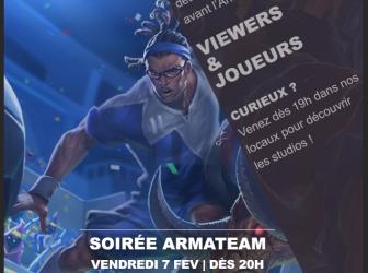 Soirée viewers à Paris le 7 Février !