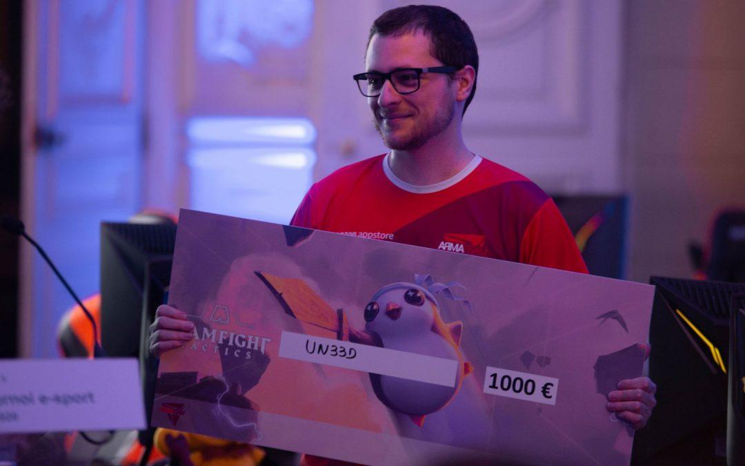 Un33d remporte l'Arma Cup Versailles !