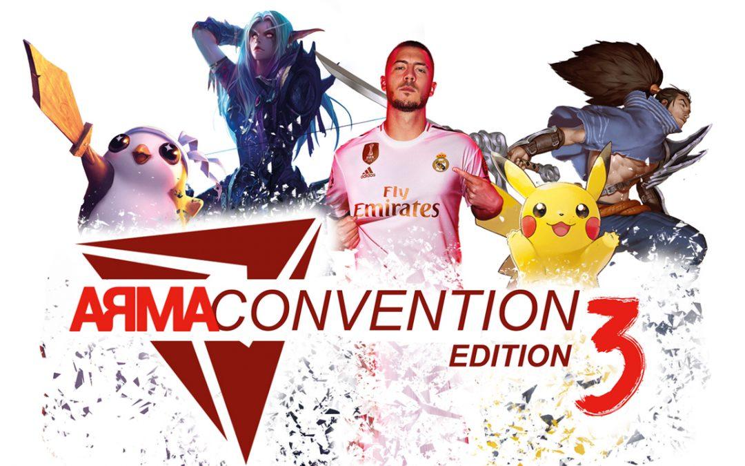 L'Arma Convention revient pour une 3ème édition !