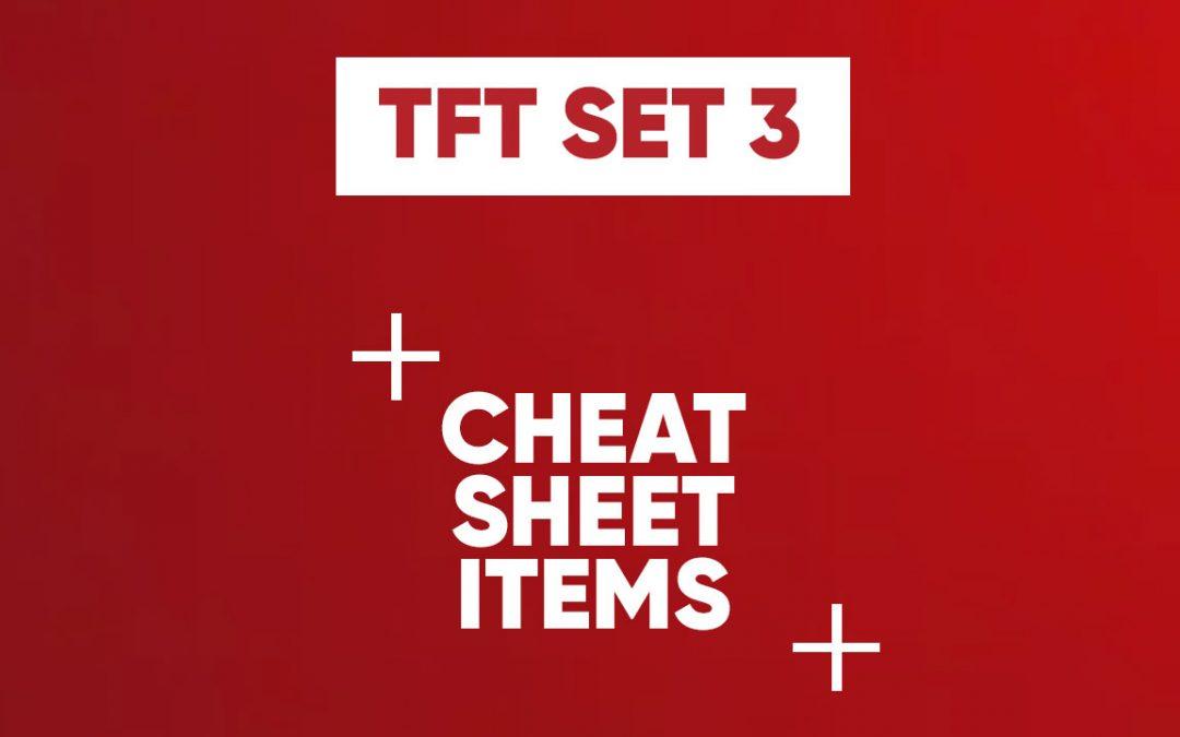 Les objets du Set 3 de TFT !