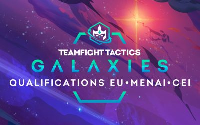 Qualifications pour le championnat du monde de TFT Galaxies !