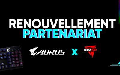 AORUS et ArmaTeam renforcent leur partenariat jusqu'en 2021