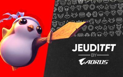 Le JeudiTFT by AORUS revient le 22 Octobre !