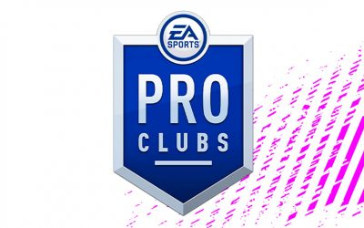 Notre Club Pro FIFA en tête de la Vegacy Major League !