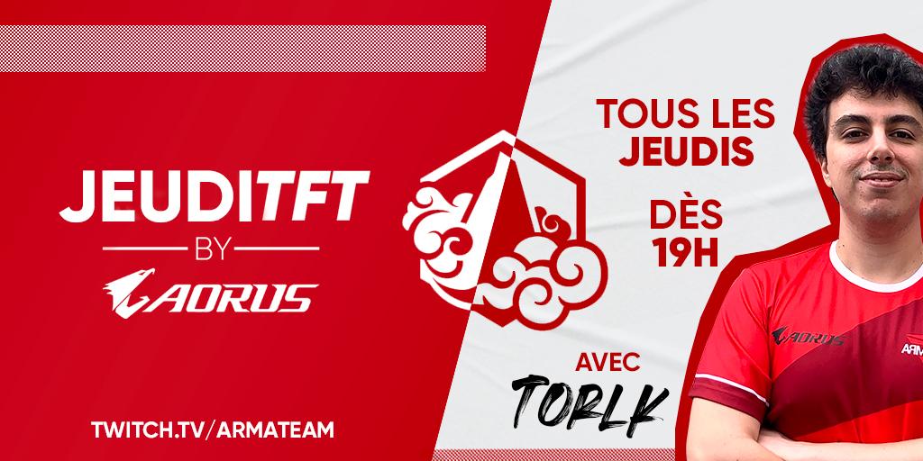 Voltariux remporte la finale Février du JeudiTFT by AORUS !