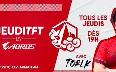 Le JeudiTFT by AORUS revient le 18 Février !