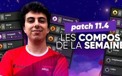 TFT SET 4.5 : les meilleures compos du patch 11.4 !