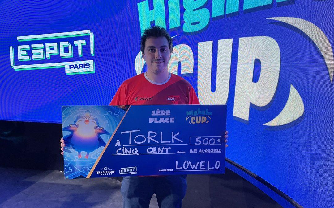 Torlk remporte la High Elo Cup