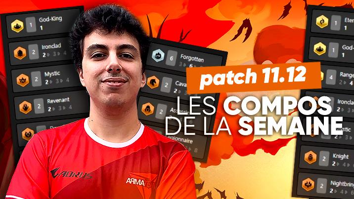 TFT SET 5 : les meilleures compos du patch 11.12 !