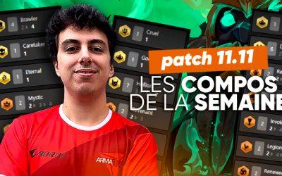TFT SET 5 : les meilleures compos du patch 11.11 !