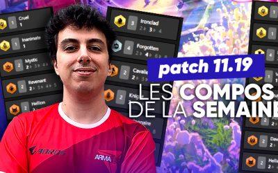 TFT SET 5.5 : les meilleures compos du patch 11.19 !